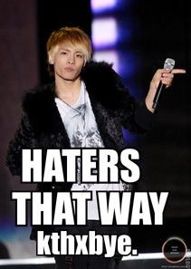 yea haters that way if u don't like k-pop!And remember comment for k-pop vids and like for k-pop idol and group facts