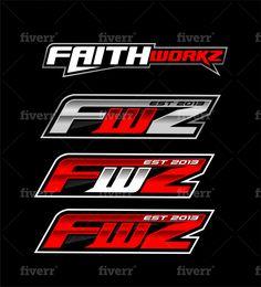 Design automotive and racing logo by Mouthtyhz Car Logo Design, Text Design, Logo Design Services, Lettering Design, Sticker Design, Car Logos, Tech Logos, Go Logo, Automotive Logo