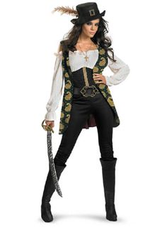Angelica Deluxe Kostüm | Piraten | Escapade Kostüme