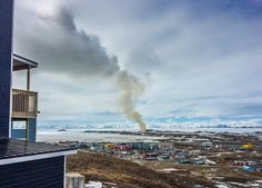 A 'Dumpcano' in the Canadian Arctic Has Been Burning for Eight Weeks!