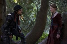 Still of Augustus Prew and Dakota Blue Richards in The Secret of Moonacre