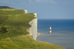 Beachy Head, UK by Andrew Overment, via 500px