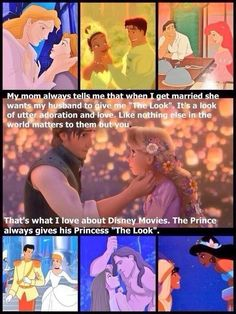 That's why I love Disney movies so much.