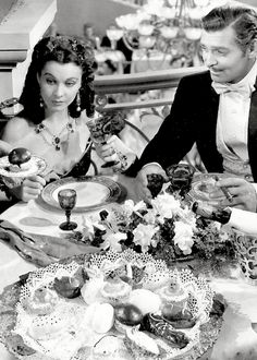 Vivien Leigh and Clark Gable - Gone With The Wind