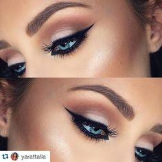 #Repost @yarattalla with @repostapp. ・・・ Beautiful look by @Kristinaxmakeup >> Tag your work to #Yarattalla, I wanna seeeee