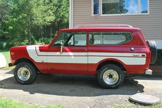 1979 IH Scout -Red Rally