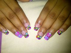 Colorful Easter Eggs & Bunny by TannyChav - Nail Art Gallery nailartgallery.nailsmag.com by Nails Magazine www.nailsmag.com #nailart