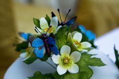 Sugar craft, Bryonny Flower and Alexander Butterfly