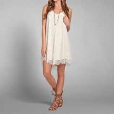 Womens Hallie Lace Dress