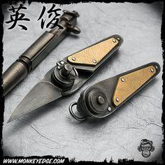 Hidetoshi Nakayama Keychain with Clip Knife