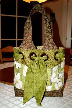 Great handmade bag.