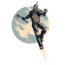Me So Nerdy: NERD ART: The Invincible Tin Man