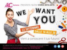 Il 22 settembre vieni a conoscere il tuo futuro! Ti presentiamo i nostri corsi 2014/2015