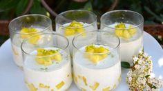 Blanc manger antillais coco ananas