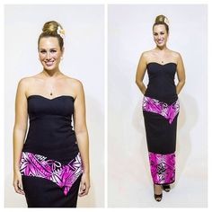 You can never have too many puletasis. Come down to our store to pick one out for your next special occasion. Island Wear, Island Outfit, New Dress Pattern, Dress Patterns, Ethnic Fashion, African Fashion, Island Wedding Dresses, Samoan Designs, Samoan Dress