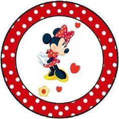 Kit Festa para Imprimir: Minnie e Mickey