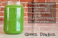 Green Dragon Vegan Smoothie Recipe