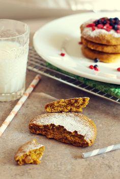 Pumpkin Peanut Butter Cookies Gluten Free-Vegan Recipe: Healthy Cookie — Family Fresh Cooking