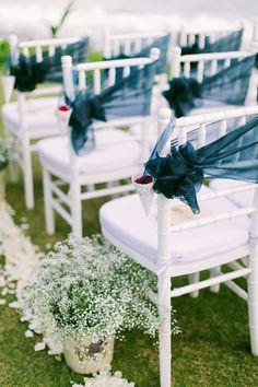 bali wedding at taman ahimsa- tiffany chair