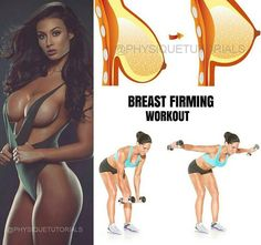 """7,664 Likes, 196 Comments - Bodybuilding & Fitness (@exercies) on Instagram: """"Breast Firming Workout! Save it you may need it in the gym! Follow us (Exercies) for daily workout…"""""""