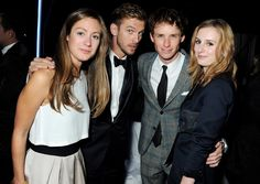 Pin for Later: Everyone in Showbiz Wants a Piece of Dan Stevens With Hannah Bagshawe, Eddie Redmayne, and Laura Carmichael