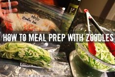 How to Meal Prep with Zoodles- Gauge Girl Training