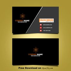 Business card template free downloads psd fils business card free business card design template vector shapes psd cheaphphosting Image collections