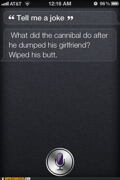 It Would Appear as Though Siri Has Regressed to the Level of a Teenage Boy