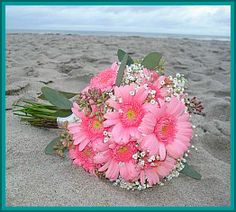 wedding flowers cheap beach
