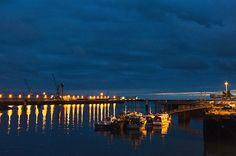 Der Port de Pêche bei Nacht | BLEU, BLANC, ROUGE
