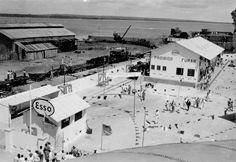 Dependências da Esso em Fortaleza, 1958.