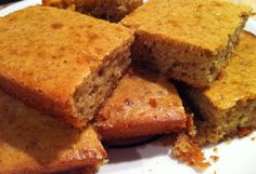 OK, so I am about to share with you the most delicious, gluten-free, Paleo friendly cornbread recipe! This stuff is so good... in fact, my hubby and I managed to eat the whole pan in a matter of 24 hours. It's very addicting! The funny thing is that I never set out to make cornbread.