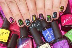 Addicted Nails!  Addictive soak off polish is amazing!!!!  http://www.simplyglamorous.com.au/