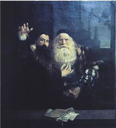 Vacslav Brozik J. Komensky se louci s Karlem starsim ze Zerotina, 1873 Figurative Art, Cool Designs, The Past, Fine Art, History, Drawings, Artist, Painting, Dark