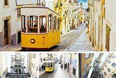 Lissabon Sehenswürdigkeit Elevator und Aufzüge