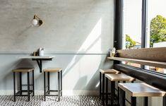 Barzotto San Francisco Restaurant Design – Bright Bazaar by Will Taylo… Brick Cafe, Wood Cafe, Restaurant Interior Design, Interior Design Tips, Industrial Kitchen Design, Modern Restaurant, Cafe Design, Dining Room Design, Ideas