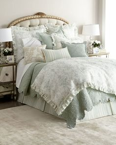 Riva+Bedding+by+Amity+Home+at+Horchow.