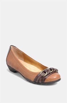 Softspots 'Posie' Flat  In Tobacco Brown (also in red & red wood)| Nordstrom