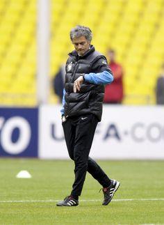Jose Mourinho Photo - FC Internazionale Milano Training and Press Conference
