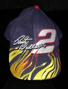 Rusty Wallace Nascar Baseball Snapback Hat Cap  2 Miller Lite   ChaseAuthentics  NascarMillerLiteRacing Rusty 2f082f3f4c87