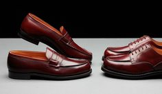 "JM Weston - ""Golf"" & ""Signature Loafer"" in Cordovan"