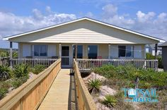 Topsail Island Oceanfront Vacation Rental | Topsail Beach-N. Anderson Area | SANDERLING COTTAGE #255