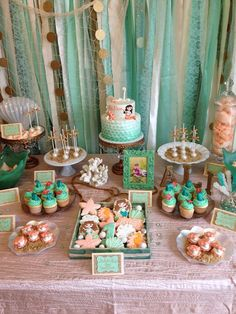 Under the Sea/ Mermaid Birthday Party Ideas | Photo 22 of 55 | Catch My Party