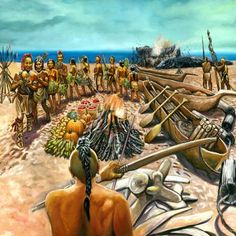 Shinnecock Potedaup (Whale) Ceremony by David Martine Native American Warrior, Native American Artists, Native American Indians, Native Americans, Indian Pictures, Art Pictures, Prints For Sale, Nativity, North America