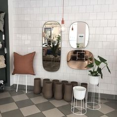 New mirrors from #muuto
