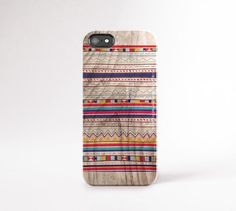 Tribal iPhone 6 Plus Case Wood Print Tribal iPhone by casesbycsera