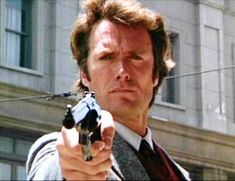 You feel lucky punk, Clint Eastwood, iconic, Dirty Harry.