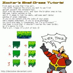 Sonic-Grass Short Tutorial by DerZocker