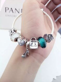 50% OFF!!! $199 Pandora Charm Bracelet. Hot Sale!!! SKU: CB01559 - PANDORA Bracelet Ideas