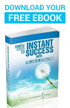 FREE! Ebook - Simple Steps to Instant Success the Law of Attraction eBook cover
